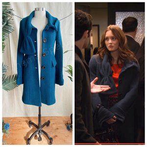 Jackets & Blazers - RARE ASO Blair Waldorf in Gossip Bow Coat Size 4